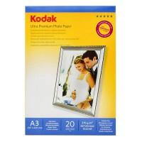 Hartie foto inkjet lucioasa Kodak, A3, 270 g/mp, 20 coli/top
