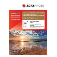 Hartie foto inkjet superlucioasa AGFA Professional, A4, 260 g/mp, 20 coli/top