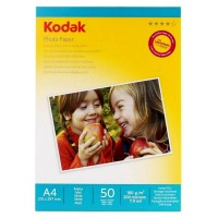 Hartie foto inkjet mata Kodak, A4, 180 g/mp, 50 coli/top
