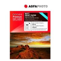 Hartie foto inkjet mata Agfa, A4, 130 g/mp, 50 coli/top