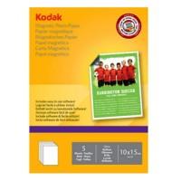 Hartie foto magnetica lucioasa Kodak, 10x15, 680 g/mp, 5 coli/top