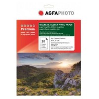 Hartie foto magnetica lucioasa Agfa, 10x15, 10 coli/top