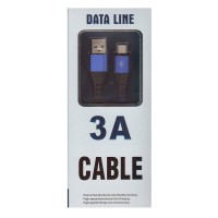 Cablu de date Type-C, 3 A, 1m, Data Line