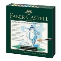 Set 10 markere acuarela, 2 capete, Faber-Castell Albrecht Durer