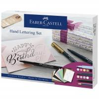 Set caligrafie 12 piese Faber-Castell Pitt Artist Pen Hand Lettering