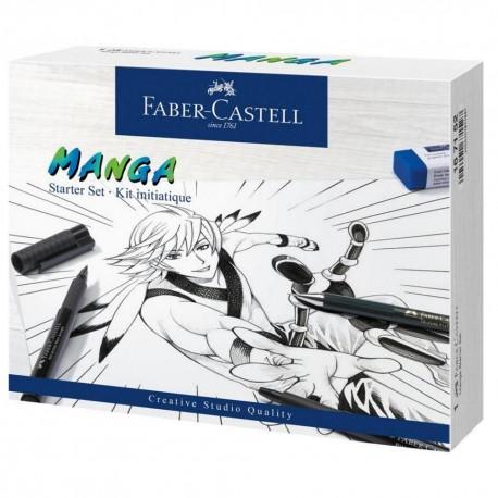 Set Manga Faber-Castell Pitt Artist Pen Starter