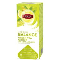 Lipton ceai verde cu citrice 25 plicutele