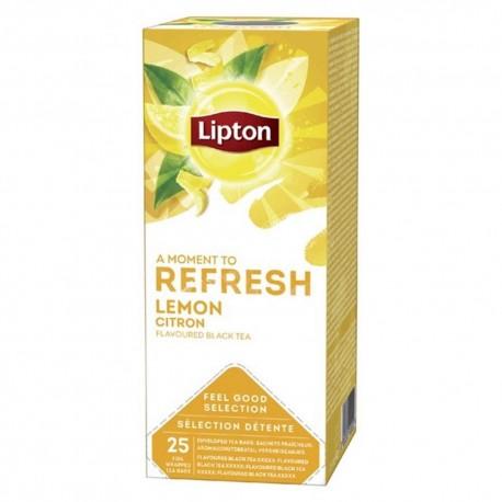 Lipton ceai lamaie 25 pliculete