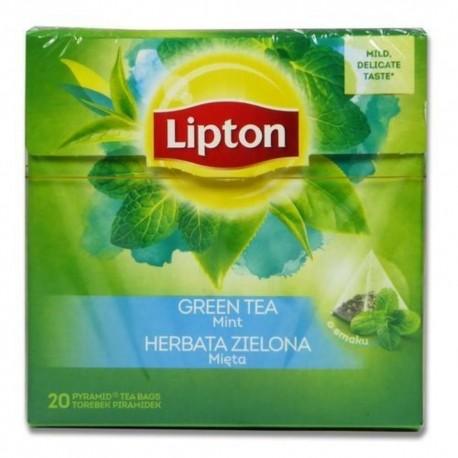 Lipton ceai negru cu capsuni 20 pliculete