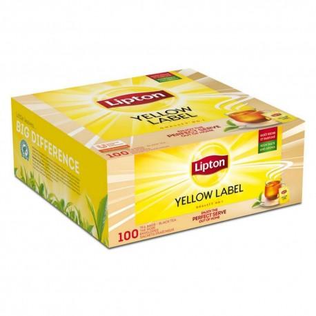 Lipton ceai negru Earl Grey 100 pliculete