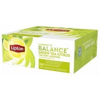 Lipton ceai verde cu citrice 100 plicutele