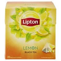 Lipton ceai negru cu lamaie 20 pliculete