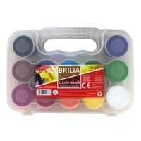 Guasa 12 culori, 20ml, Daco Brilia