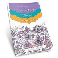 Carte de colorat antistres A4, 60 pagini, pentru adulti