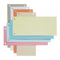 Separatoare carton 10 x 24cm,  100 buc./set, culori asortate