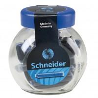 Set 30 rezerve cerneala albastra Schneider
