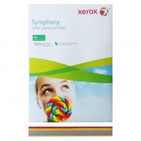 Hartie Xerox A4 color, 5x50 coli, mix intermediar