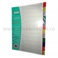Separatoare plastic color 12  buc./set, EXXO