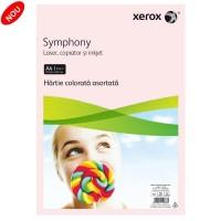 Hartie A4 color asortata set 100 coli, 10 culori, 80g/mp, Xerox Symphony
