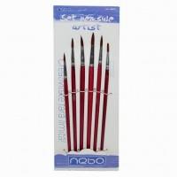 Set 6 pensule rotunde, Nebo