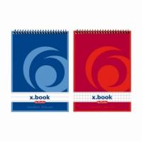 Blocnotes A6 cu spira 50 file x.book, Herlitz