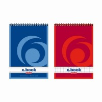 Blocnotes A7 cu spira 50 file x.book, Herlitz