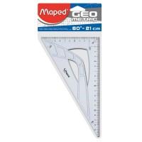Echer 60°, ipotenuza 21cm, Maped Start