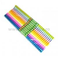 Hartie creponata vargata 0,5 x 2 m diverse culori, Koh-I-Noor