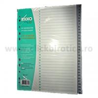 Index plastic gri numeric 1-31, Exxo