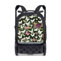 Troller-rucsac Nikidom Roll UP XL Butterfly + cadou abtibilduri Nikidom