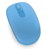 Mouse USB mini wireless, 3 butoane Microsoft Mobile 1850, bleu