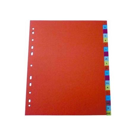 Separator index plastic color, numeric 1-12, Optima