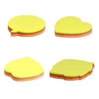 Notes adeziv 72x72 mm, 5x20 file, culori neon, Office Cover