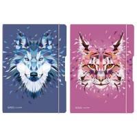 Caiet A4 My.Book Flex Wild Animals, 2x40 file, Herlitz