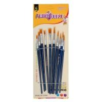 Set 10 pensule, 5 rotunde + 5 late