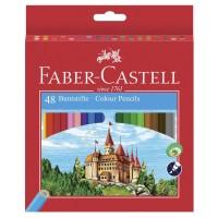 Creioane color Faber-Castell 48 culori