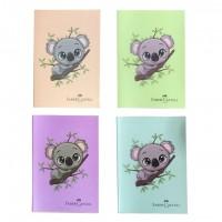 Caiet A4, 60 file, coperta plastic, Koala, Faber-Castell