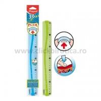 Rigla plastic 30cm Maped Flex