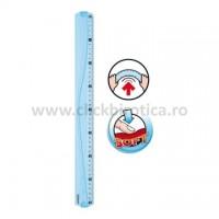 Rigla plastic 40cm Maped Flex