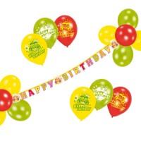 Set party Happy Birthday 21 piese, Herlitz
