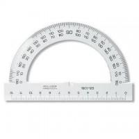 Raportor plastic 180°, 12,5 cm, Koh-I-Noor