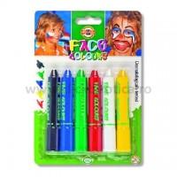 Set 6 culori pentru piele Koh-I-Noor