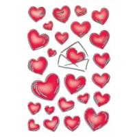 Abtibild cu inimioare si scrisori, Herma