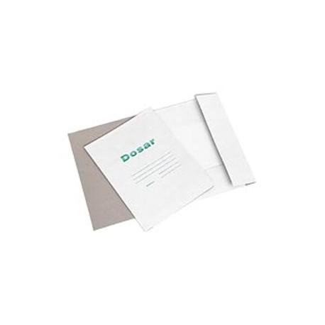 Dosar carton alb plic