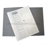 Dosar carton alb simplu