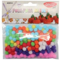 Accesorii decor Pom-Pom Mini, Daco