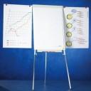 Flipchart magnetic cu brate laterale, 105 x 70 cm, SMIT Standard Plus