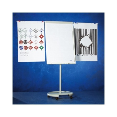 Flipchart magnetic cu brate laterale, cu rotile, 105 x 70 cm, SMIT Vario