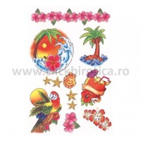 Abtibild tatuaj color Hawai Art, Herma