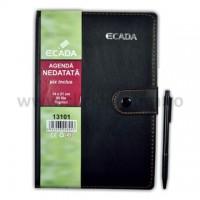 Agenda cu pix Ecada 14 x 21 cm (A5)